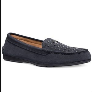 Coach Orlene Calf Suede Loafer